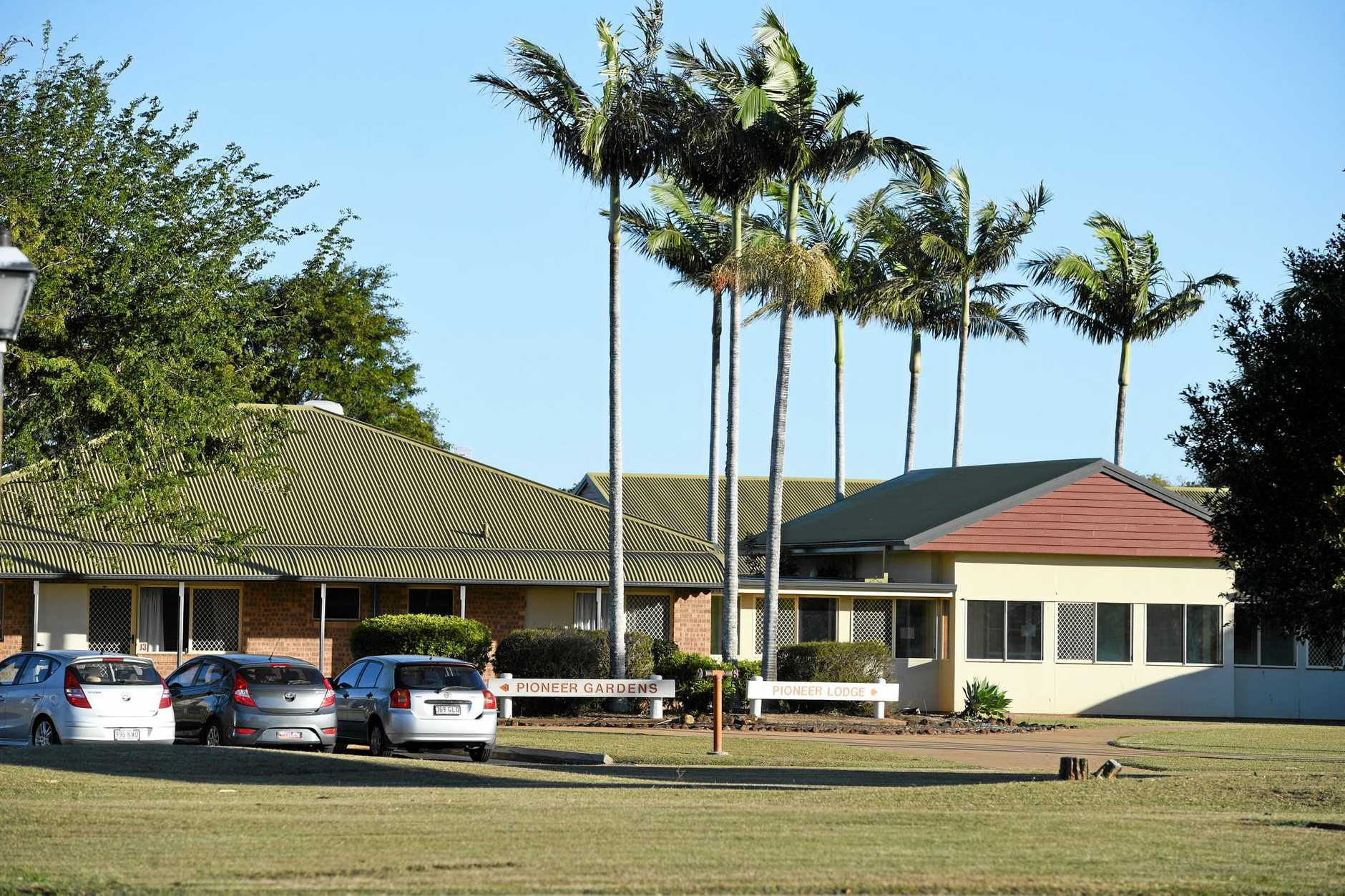 Pioneer Lodge and Gardens Aged Care Facility.