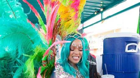 Bird of a feather (aka Rihanna). Picture: Splash NewsSource:Splash News Australia