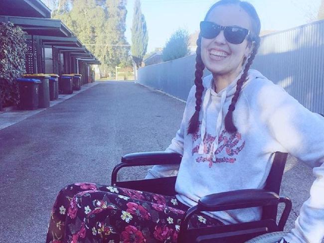 Carmel is always smiling in photos, but life hasn't been easy. Picture: Instagram Source:Instagram