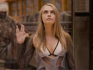 Cara Delevingne shoots for the stars