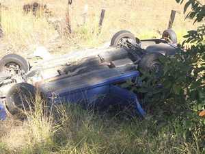 UPDATE: Highway re-opens after Kilkivan-Woolooga crash