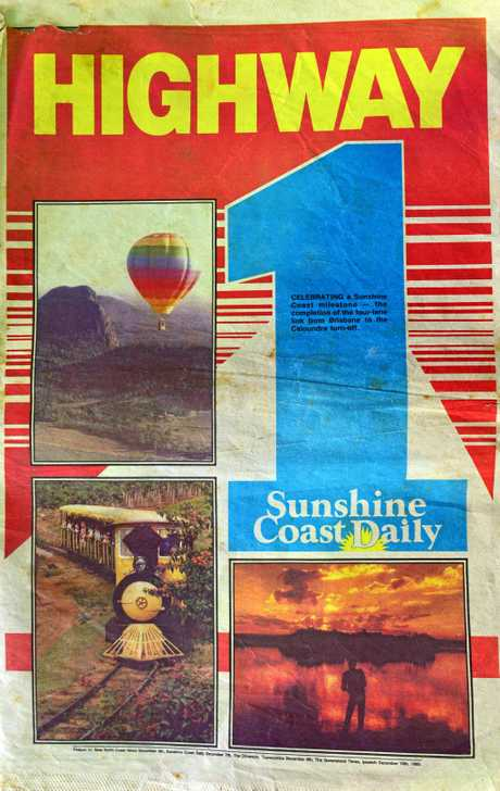 Sunshine Coast Daily Newspaper 1985.