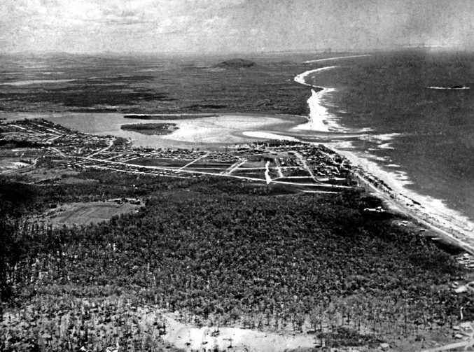 The stretch of coast between Maroochydore and Noosa slowly developed over the years.