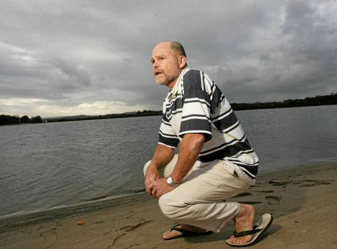 Jim Cash ponders the fate of the Maroochy River in 2004.