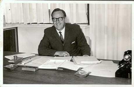 Noel Burns, managing director of Kawana Estates Pty Ltd.
