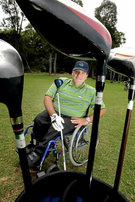 Dave Sawtell at Chinderah Golf club.