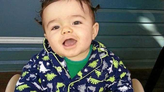 Hemi Les Goodwin-Burke, who was bashed to death by his babysitter, Matthew James Ireland, in 2015.