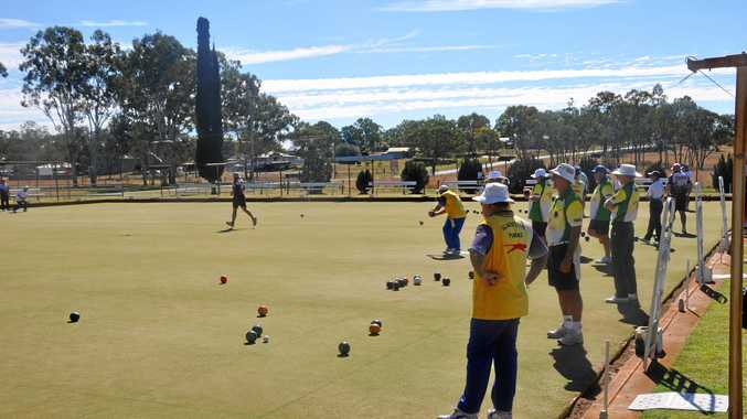 SUNNY START: Monto Bowls Club ultimately came third in the mens Pennants games.