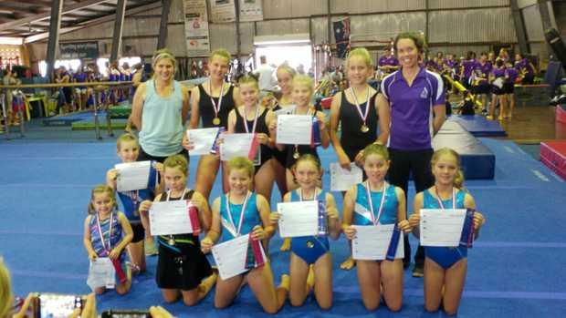 TALENT: PCYC Whitsunday girls took part in the Burdekin Blast International in July.