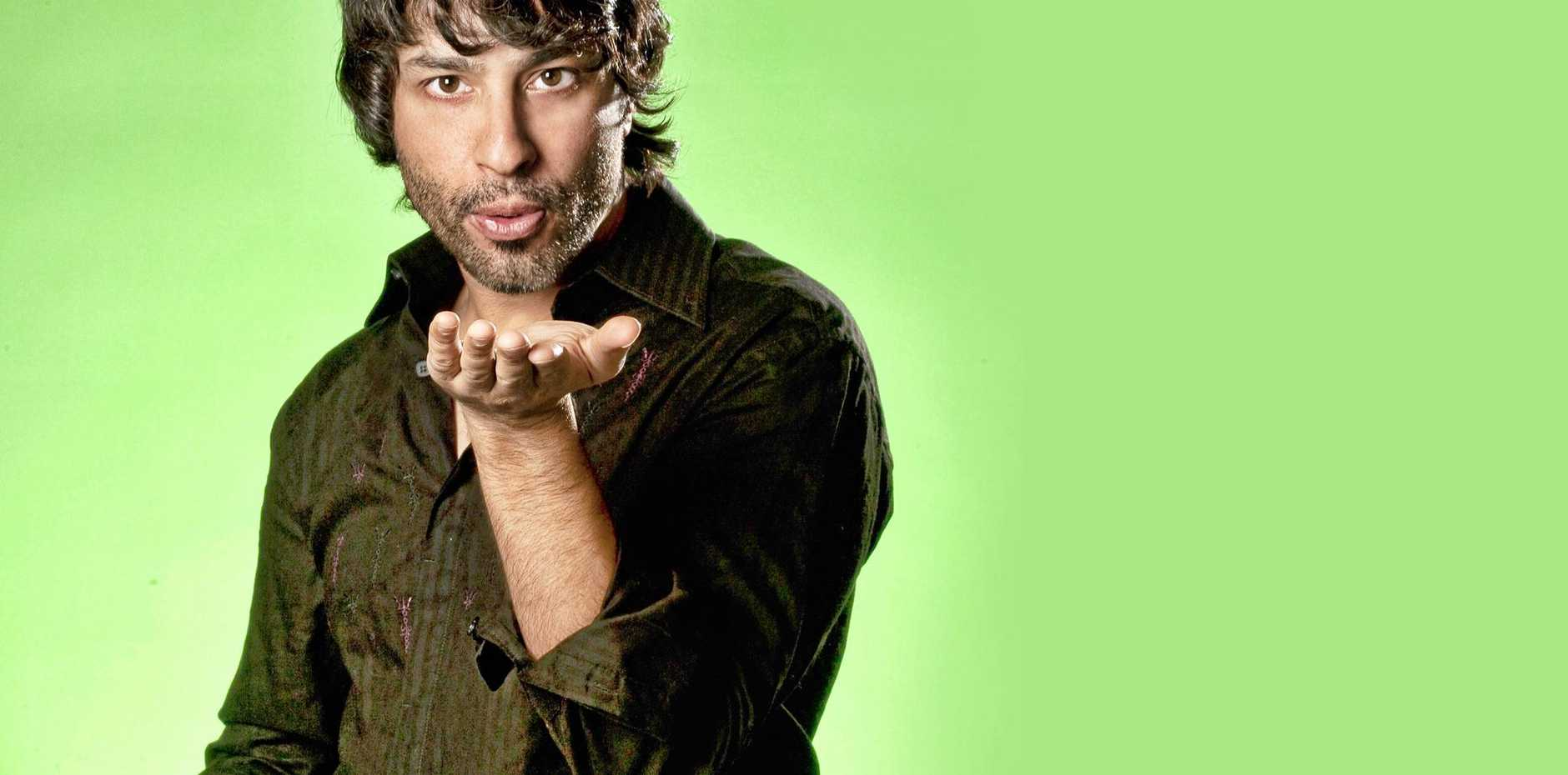 LAUGH OUT LOUD: Arj Barker promises to bring some laughs to Gladstone.