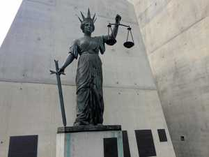 The Greek Goddess of Justice, known as Themis.
