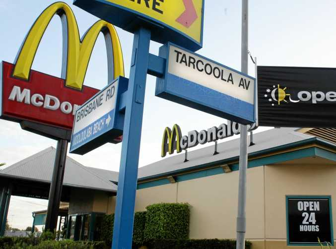 HANGOUT: Police regularly patrol McDonald's Mooloolaba in the early hours during weekends.