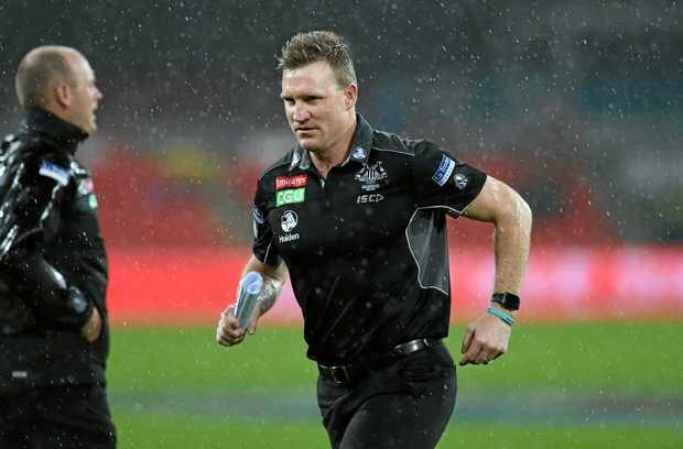 Collingwood Magpies coach Nathan Buckley