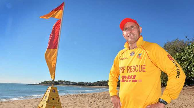 Eimeo Surf Life Saving Club Captain Damien Watts is hoping more people will join the club's beach patrol groups.