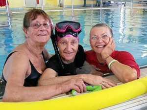 Swimming a saving grace