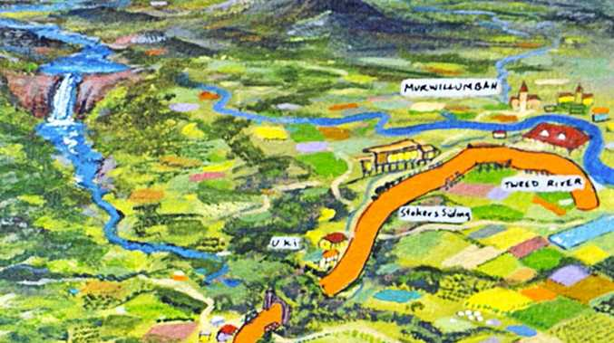 Proposed rail trail from Tweed River Art Gallery to Crabbes Creek.