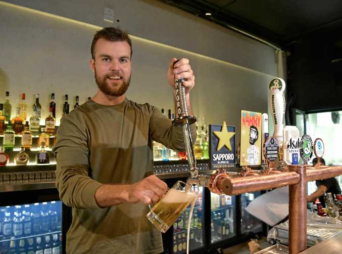 Chow venue manager Luke O'Keefe is ready for the big opening in Ocean Street, Maroochydore.