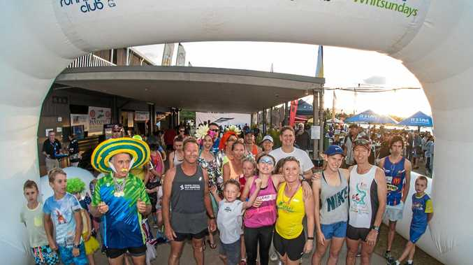RUN A MILE: The Festival of Sailing's fun run is a great community event.