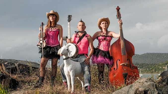 TOP ACT: The Hillbilly Goats are all set to regale regatta crowds.