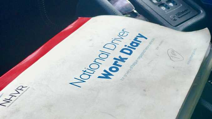 LOGBOOK FINE: The 53 year old driver from Currans Hill NSW appeared in Albury Local Court on 21 logbook charges under the Road Transport Act.
