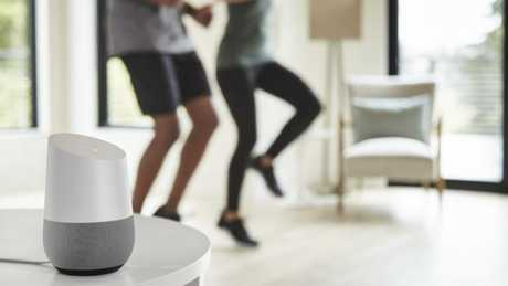 Google Home can play music and set timers — perfect for your workout.Source:Supplied