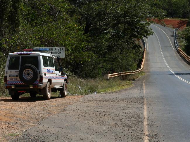 Leggett's Crossing were Donna Steele's body was found.Source:News Corp Australia