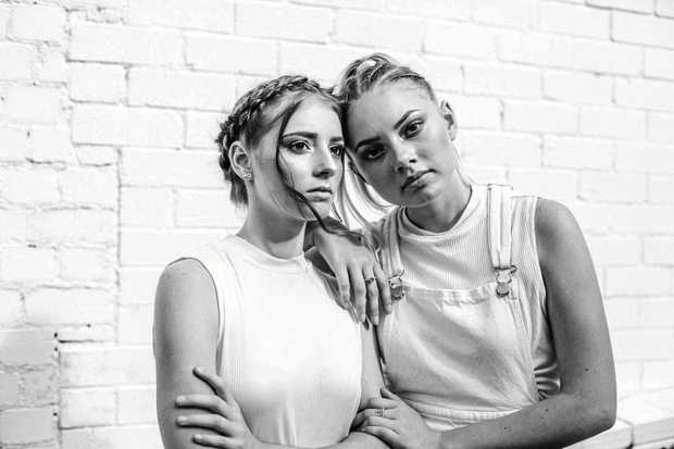 NEXT TOP MODELS: Sophie, 16, and Britney Smithers, 18, will be competing in different categories in the Australian Supermodel of the Year contest.