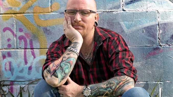 BOGAN AND LOVING IT: Comedian Steven J Whitely.