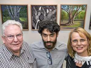 Three artists, three different interpretations