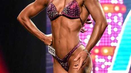 Sarina bodybuilder Bec Steele, has been selected to compete in Las Vegas.