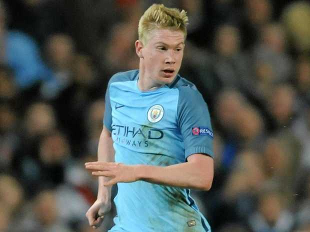 Manchester City's Kevin De Bruyne could be a key man in the title chase.
