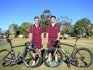 MATES BATTLE WORLD: Duo to compete at triathlon world titles