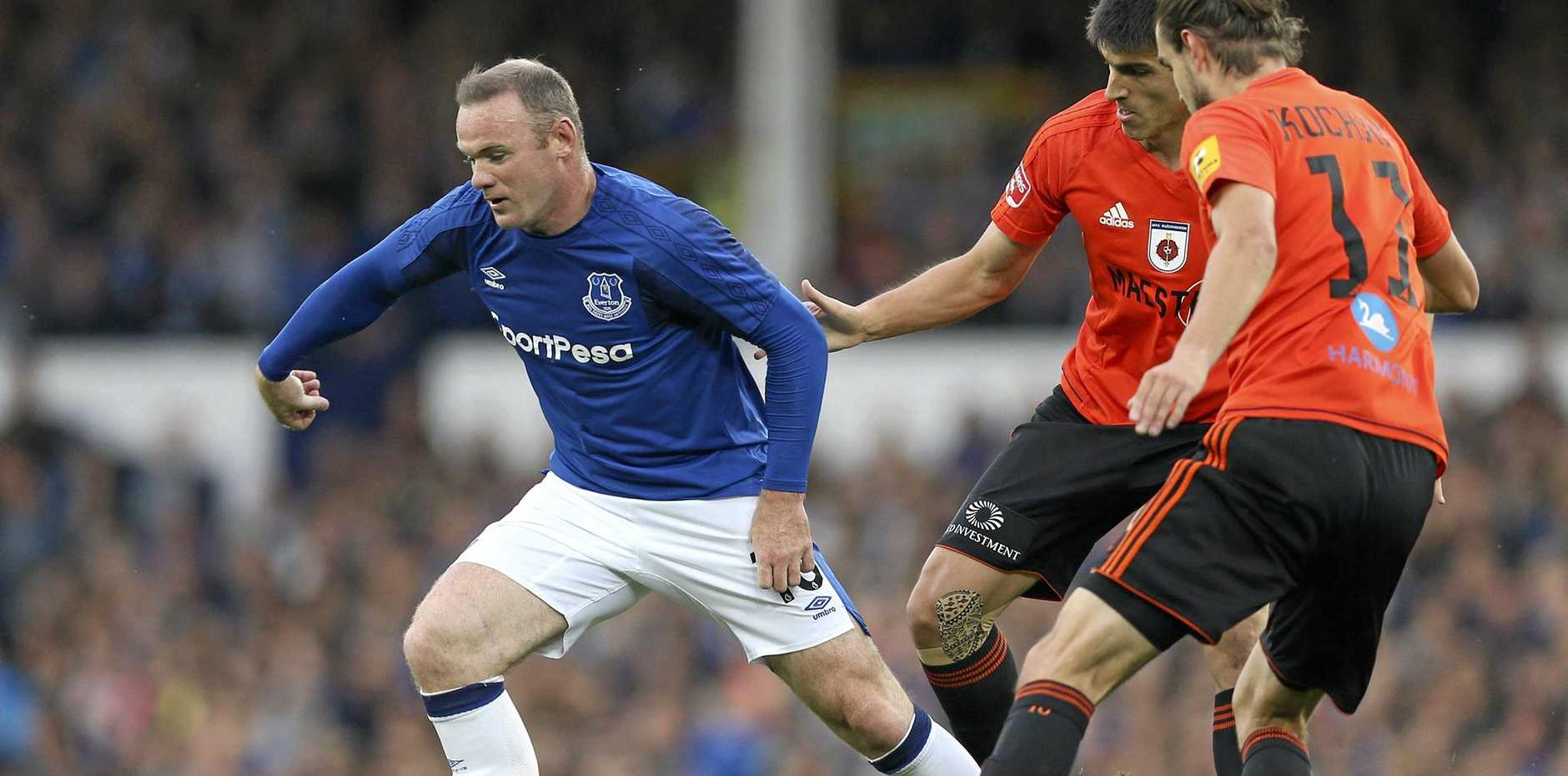 BACK HOME: Wayne Rooney has returned to Everton for this Premier League season.