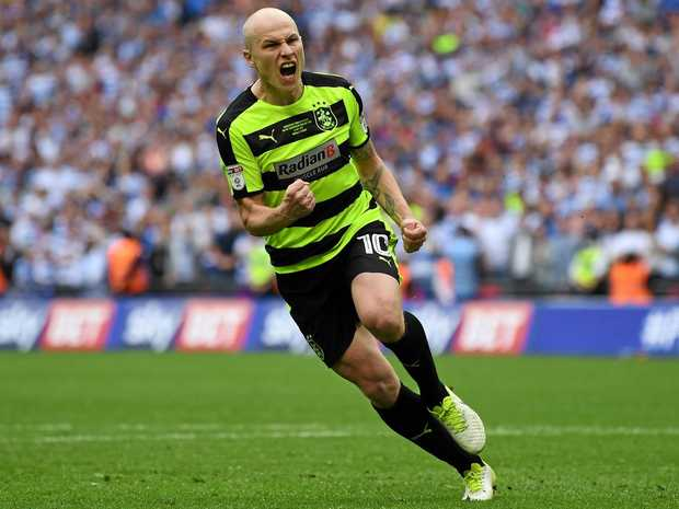 HIGH EXPECTATIONS: Australian Aaron Mooy became Huddersfield's record signing when he sealed a permanent move from Manchester City.