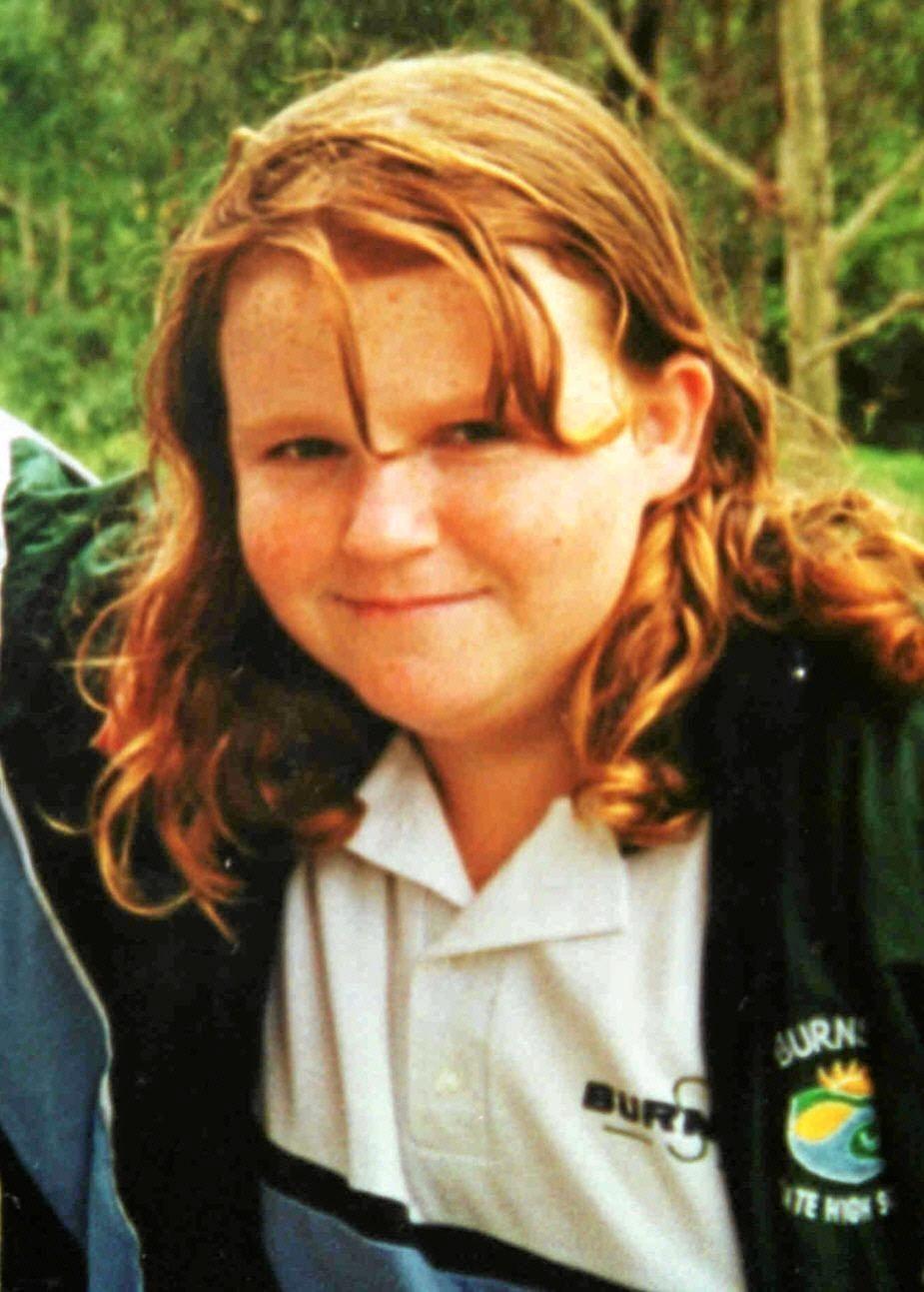 Teenager Jessica Gaudie, 16. in a Burnside High school photo.