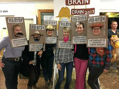 Best dressed team for the 2017 Kumbia Brain Drain were The Wanted Six.