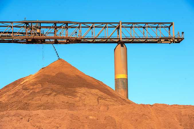 NEXT EXPORT? A bauxite company has plans to mine the rock at Gayndah and export it from Bundaberg.