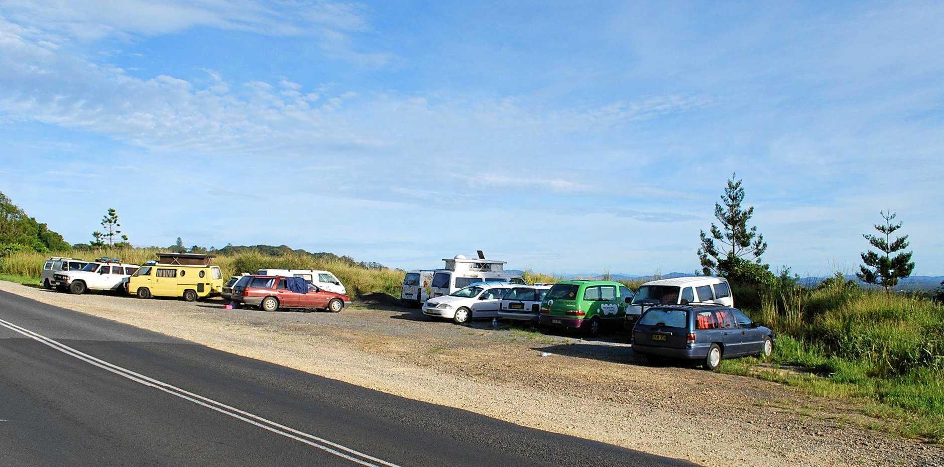 Vanpacking persists in Byron Bay. Photo Christian Morrow / Byron Shire News