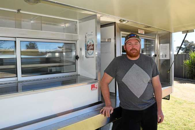 TUCKER TRUCK: Adam Nesbitt, will be the man in the van for Charchy's Smoko on the Go.