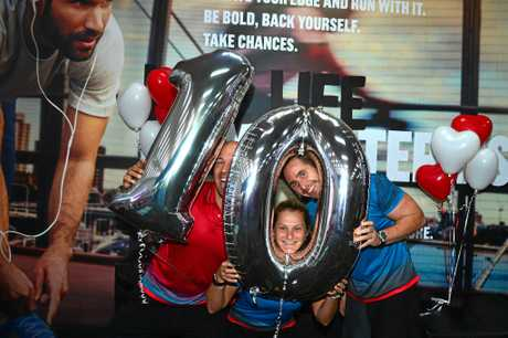 ALL SMILES: The Coast-based fitness company has also been named among the 25 best companies to work for in Australia.