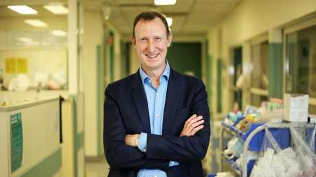 Heart surgeon Professor David Winlaw. Picture: Tim Hunter.Source:News Corp Australia