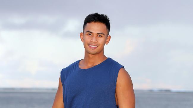 Flight attendant Jericho Malabonga isn't afraid to put aside his strong Christian faith to win Australian Survivor.