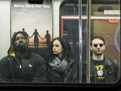 See? Just like regular people. They even ride the subway.