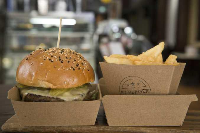 Burgers at St Burger.