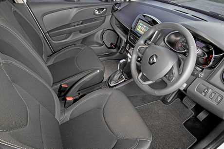 The 2017 Renault Clio in Zen specification.