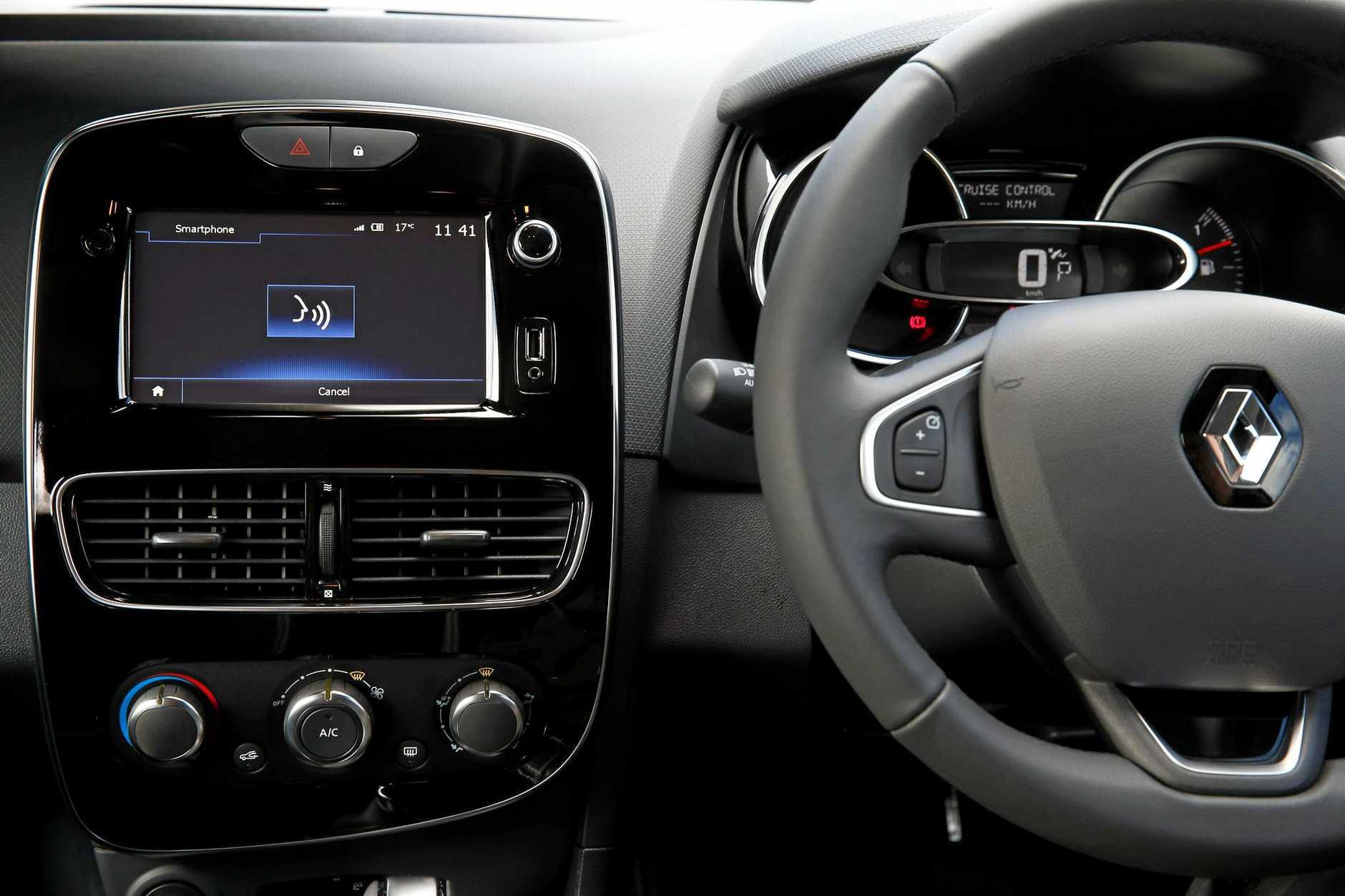 The 2017 Renault Clio in Zen specification.