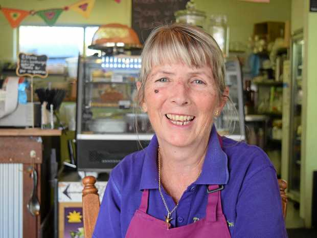 LOCAL GROWTH: Cocoa Tree Cafe owner Pauline Smith has been in business for nine years.