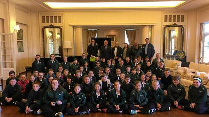 Dalby South State School Canberra trip.