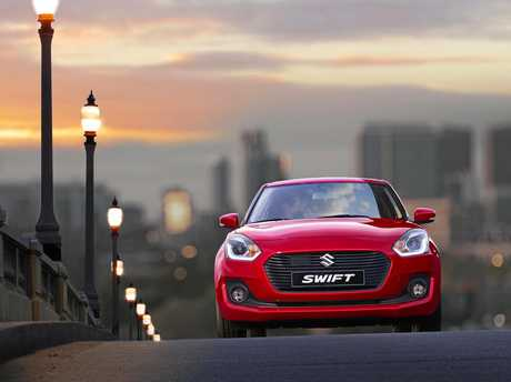 The 2017 Suzuki Swift.