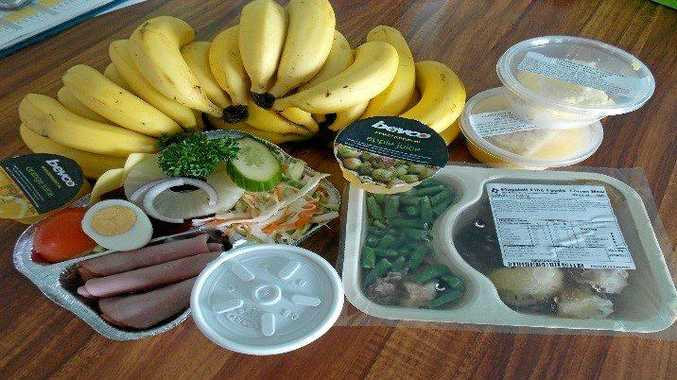 MEALS ON WHEELS offer gluten free, diabetic and low salt, lactose and sugar free.